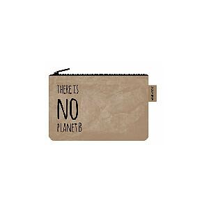 Trousse bruin t uit 100% wasbaar papier.