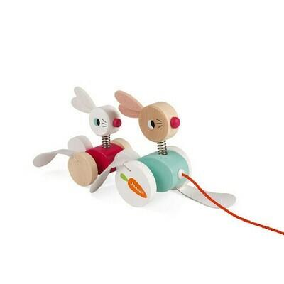 Pulle along konijn