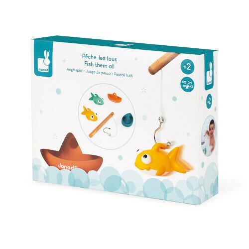 Vissen in bad