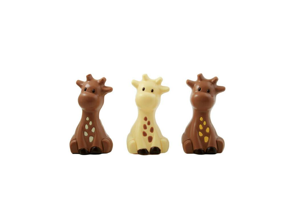 Raf Giraffe wit 12cm