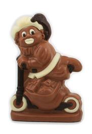 Zwarte Piet op step 15cm melk
