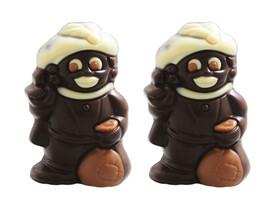 Mini zwarte Piet fondant 7.5 cm