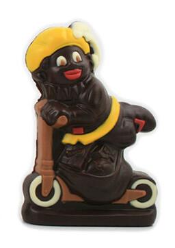 Zwarte Piet op step 15cm fondant
