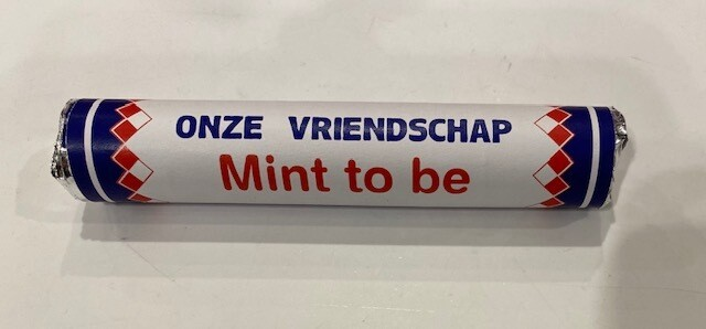 Muntjes: You and me are MInt to be