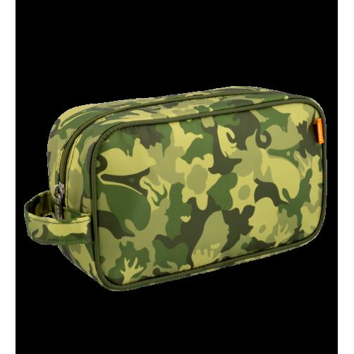Toilettas camouflage groen