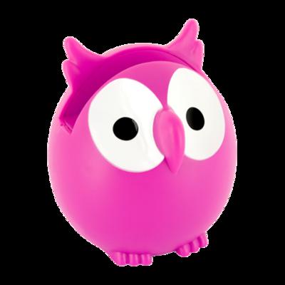 Brilhouder uil roze