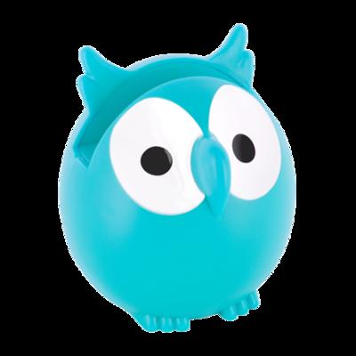 Brilhouder uil Turquoise