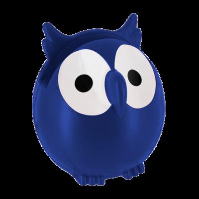 Brilhouder uil donker blauw