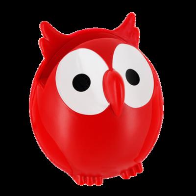Brilhouder uil rood