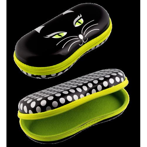 Brillendoos kat zwart
