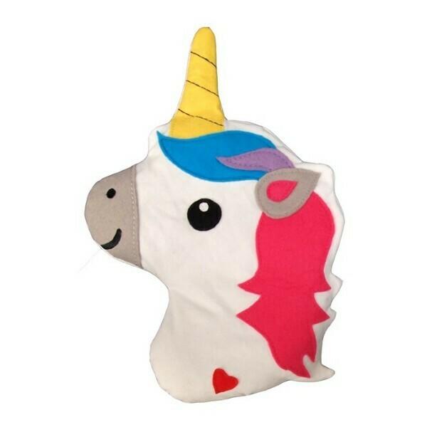 Warmtekussen unicorn