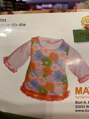 kleedje  voor pop 45 cm