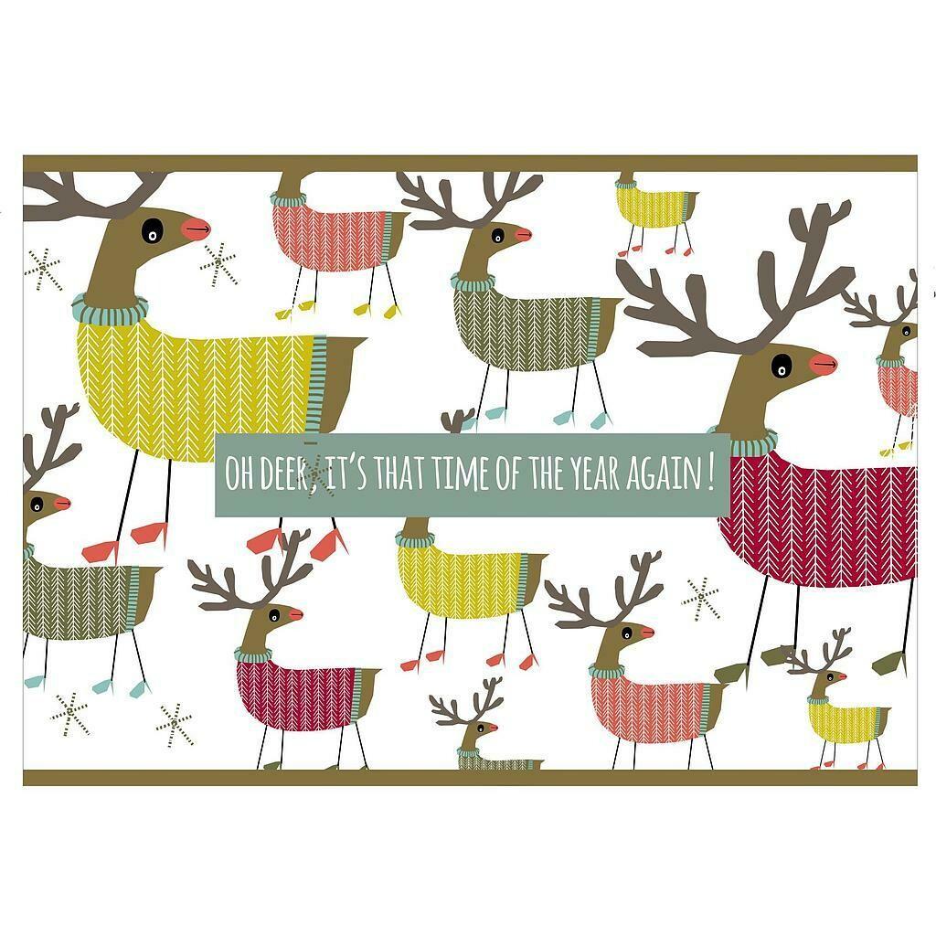 Kerstkaartjes: oh deer, it's that time of the year again!