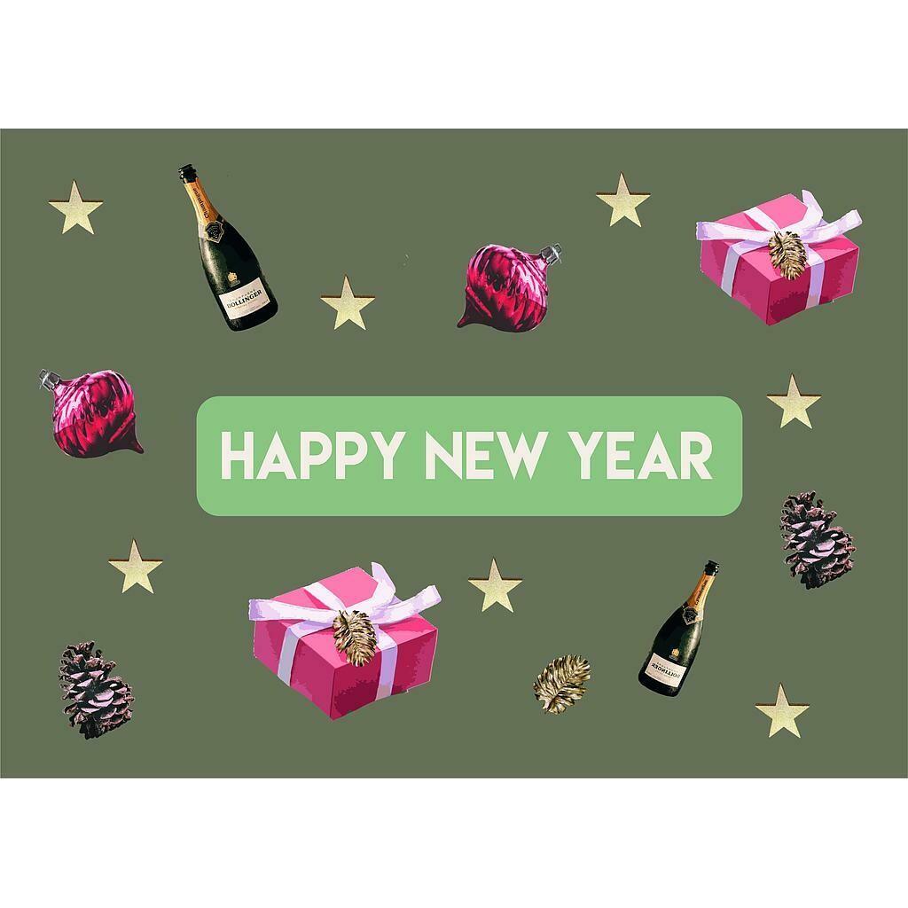 Kerstkaartjes: Happy new year