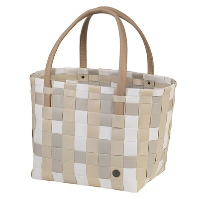 Shopper Color Block ecru white mix