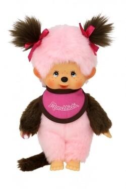 Pink bib girl