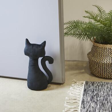 Meow door stopper black