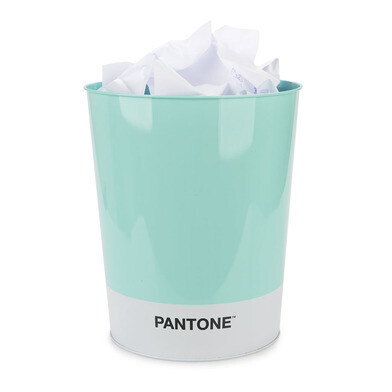 Wastbasket pantone turquoise