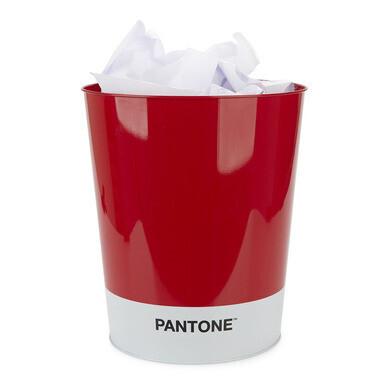 Wastbasket pantone rood