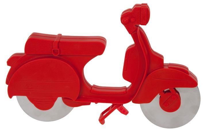 Pizza slicer scooter