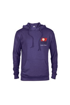HTTC Embroidered Logo French Terry Hoodie