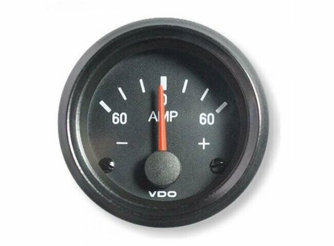 VDO ampèremeter -60A -0 - 60A