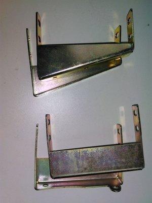 Supports oliekoeler (set 2 stuks)