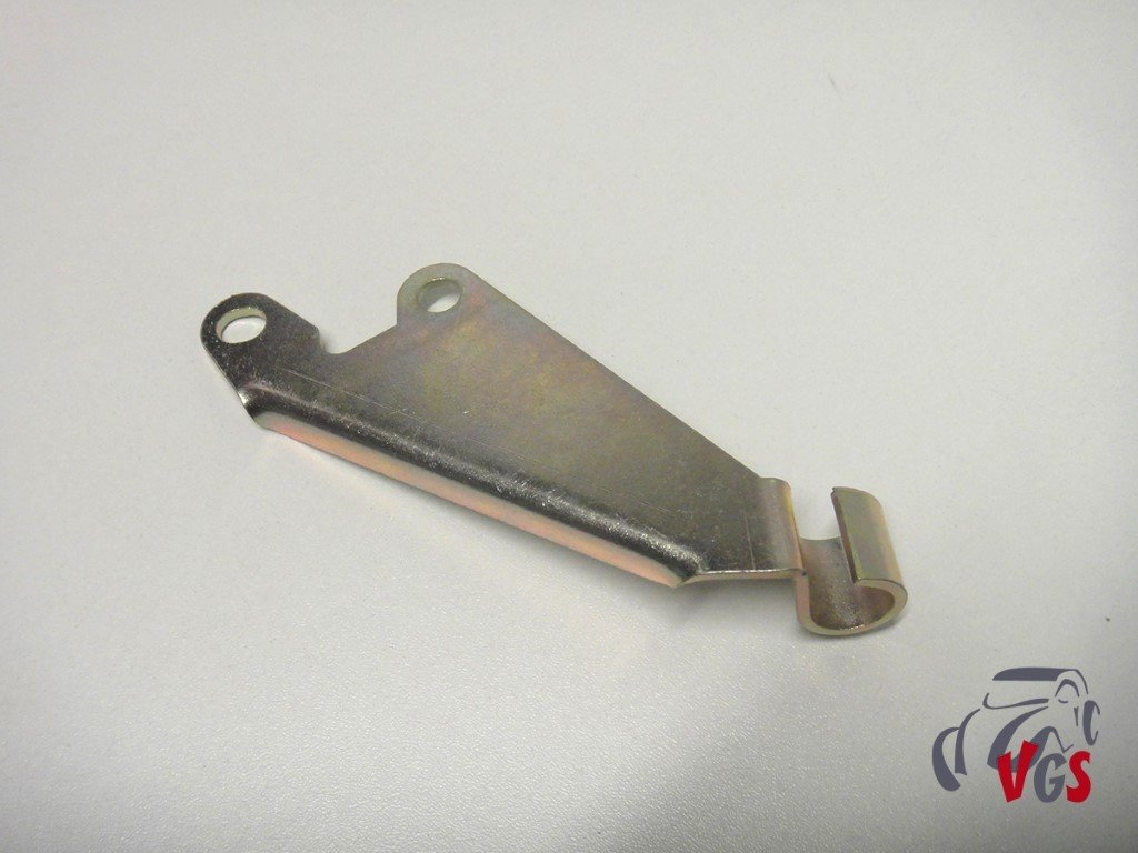 Bevestiging gaskabel voor carburator dubbeltraps