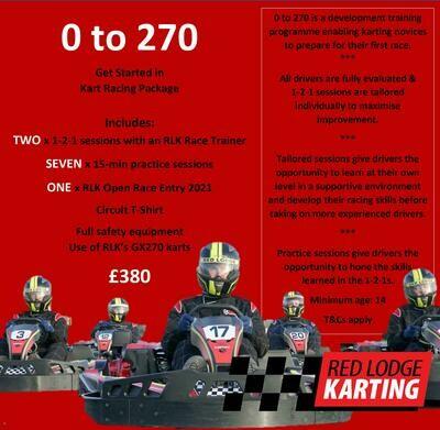 0-270 Kart Racing Package