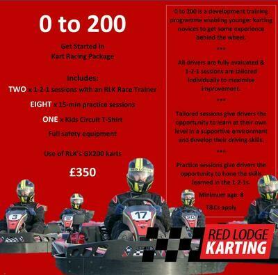 0-200 Kart Racing Package for Kids