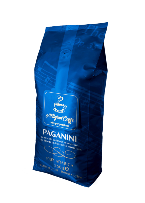 PAGANINI CAFFE' IN GRANI 250 GR