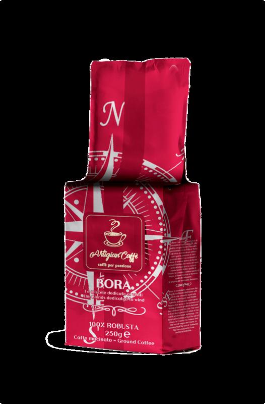 BORA CAFFE' MACINATO 250 GR