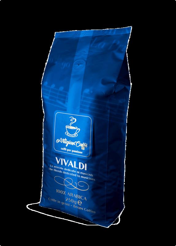 VIVALDI CAFFE' IN GRANI 250 GR
