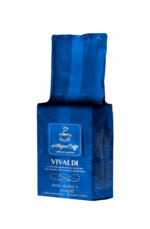 VIVALDI CAFFE' MACINATO 250 GR