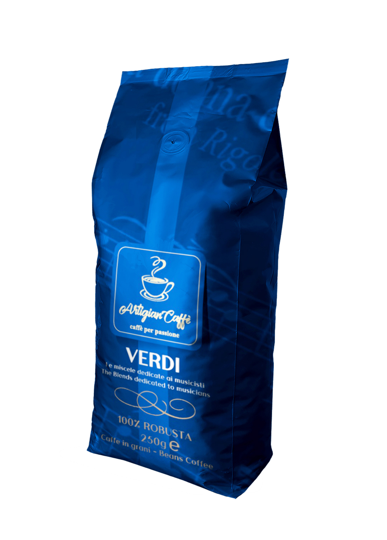 VERDI CAFFE' IN GRANI 250 GR