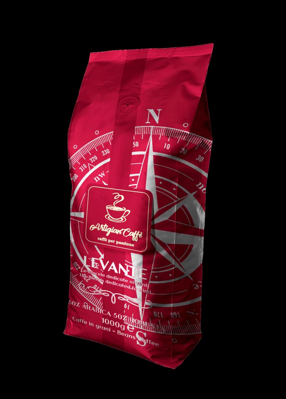 LEVANTE CAFFE' IN GRANI 1 KG