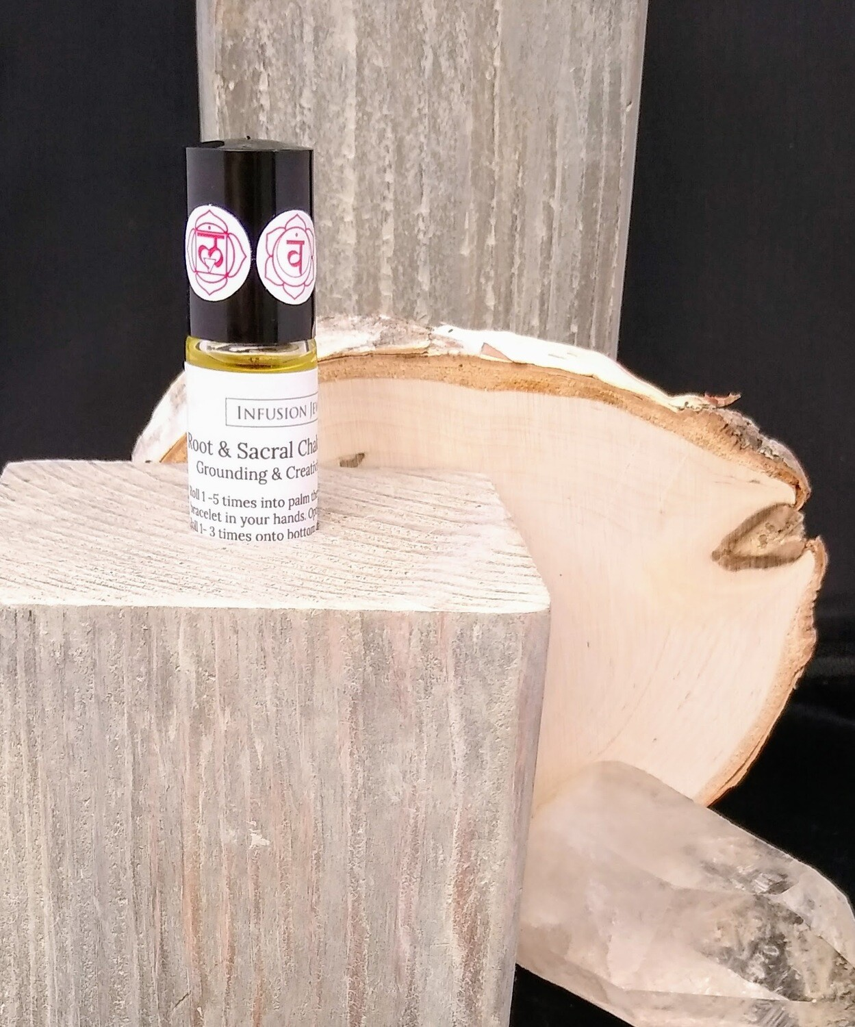 Root & Sacral Chakra Essential Oil Roll-On