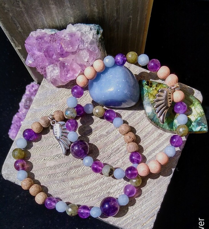 ~GUARDIAN ANGEL 2~ Essential Oil Infusion bracelet