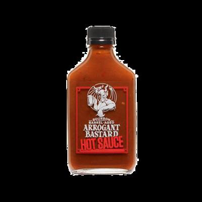 Arrogant Bastard Bourbon Barrel-Aged Hot Sauce
