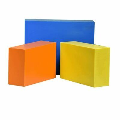 "ABS Bundle 5: Two Blocks - 2"" x 4"" x 6"" One Block - 2"" x 6"" x 8"""