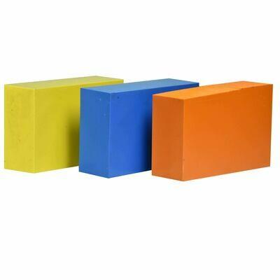 """ABS Bundle 1: Three Blocks - 2"""" x 4"""" x 6"""