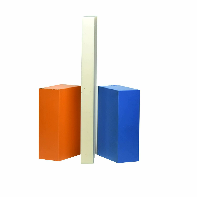 "ABS Bundle 3: Two Blocks 2"" x 4"" x 6"", One Block 1"" x 6"" x 12"""