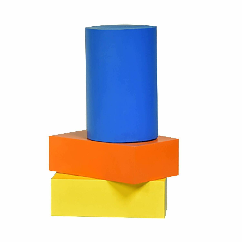 "ABS Bundle 6: Two Blocks - 2"" x 4"" x 6"" One Rod - 4"" D x 6"" L"