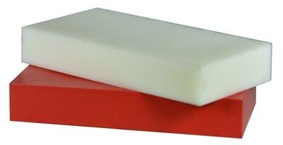"""HDPE Bundle 1: Two Blocks – 2""""x 3""""x 6"""""""