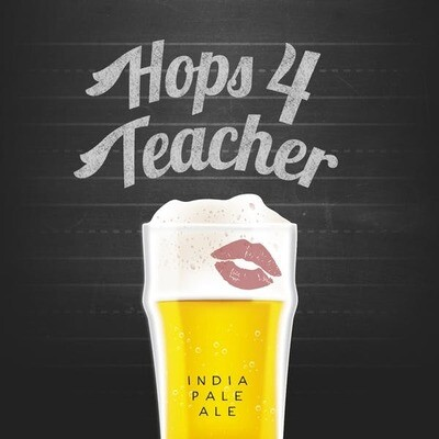 J Wakefield Brewing Hops 4 Teacher IPA (4-PACK)