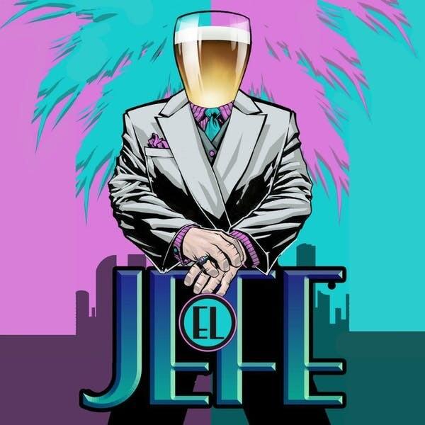 J Wakefield Brewing El Jefe Hefeweizen (4-PACK)