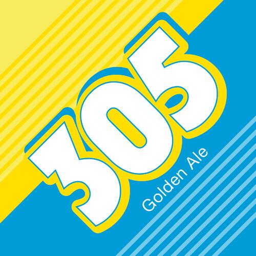 MIA Beer Company 305 Golden Ale (1/6 BBL KEG)