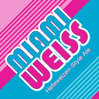 MIA Beer Company Miami Weiss Hefeweizen Style Ale (6-PACK)