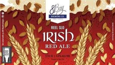 81 Bay Reel Slo Irish Red Ale (1/6 BBL KEG)