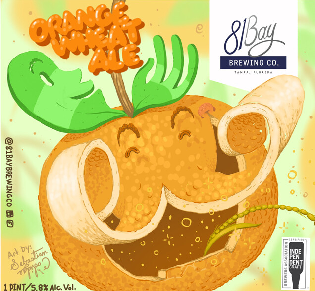 81 Bay Coriander Orange Wheat Ale (6-PACK)